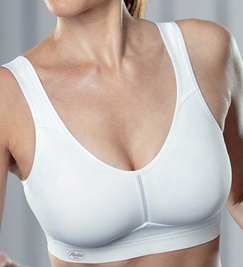 Anita 5521 Active Light and Firm Sports Bra (White)