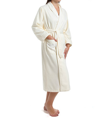 810e2fa9b5 SKU-1.60318e+006 KayAnna S01156 Waffle Shawl Collar Spa Robe (White ...