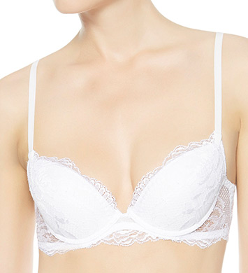 La Perla 906295 Begonia Lace Push-Up Bra (White)