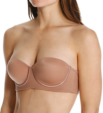 Leonisa 11654 Slimming Strapless Push Up Bra (Natural)