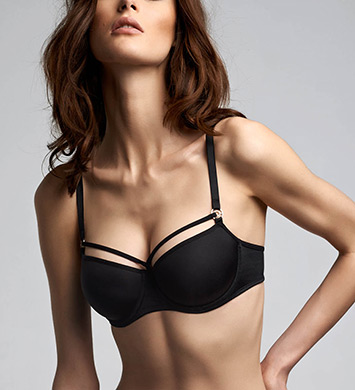 Marlies Dekkers 17150 Space Odyssey Balcony Bra (Black)