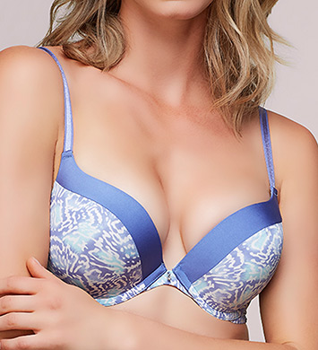 Montelle 9015 Prodigy Ultimate Push Up Bra (Botanic Print)
