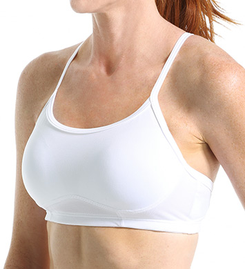 New Balance WBT3106 The Tenderly Obsessive Sports Bra (White)