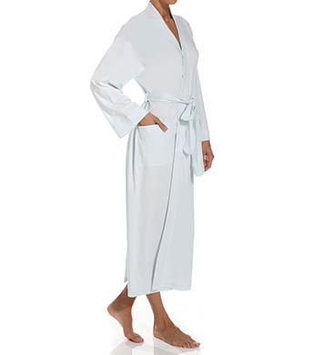 106.00 More Details · P-Jamas 355660 Butterknits Long Wrap Robe (Blue S) f53c794c9