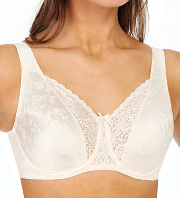 Playtex 4422 Secrets Full Figure Underwire Bra (Natural Beige)