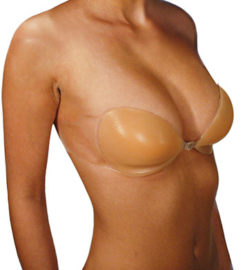 Pure Style Girlfriends 75783 Gather The Girls Silicone Adhesive Bra (Nude D)