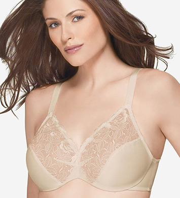 Wacoal 85122 Elegance Hidden Wire Minimizer Bra (Natural Nude)