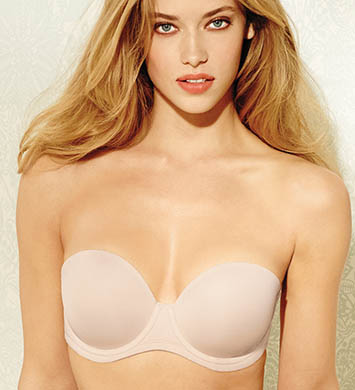 Wacoal 854119 The Red Carpet Full-Busted Strapless Bra (Naturally Nude)