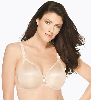 Wacoal 857109 Simple Shaping Minimizer Bra (Naturally Nude)