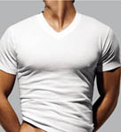 Jersey V-Neck T-Shirt - 3 Pack
