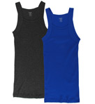 Essentials Square Cut Tank - 2 Pack