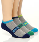 2xist No Show Sport 3 Pack Socks 24V03