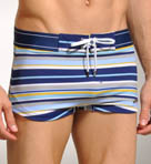 Cabo Stripe Woven Swim Trunk