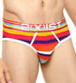2xist Cabana Prints No Show Brief 762001