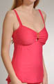Aerin Rose Over the Shoulder Tankini Swim Top 227