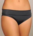 Solid Highwaist Swim Bottom