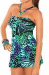 Butterfly Tummy Control Swim Dress