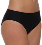 Aerin Rose Solid High Waist Bottom BLCK444