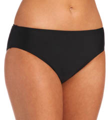 Aerin Rose Carbon High Waist Swim Bottom CARB444