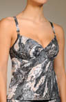 Cosmos Seamless Foam Cup Tankini Top
