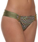 Enchanted Ruched Back Hipster Swim Bottom