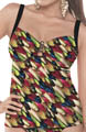 Feathers Underwire Tankini Swim Top Image