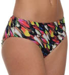 Feathers High Waist Swim Bottom