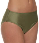 Aerin Rose Gilded High Waist Swim Bottom GILD444