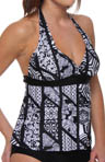 Aerin Rose Niwa Underwire Halter Tankini Swim Top NIWA223