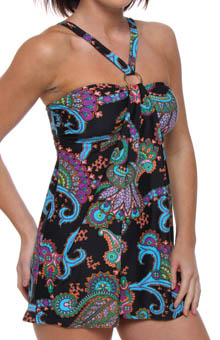 Tangiers A-Line Underwire Swimdress