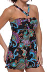 Aerin Rose Tangiers A-Line Underwire Swimdress TNGR301