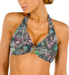 Aerin Rose Viper Underwire Halter Swim Top VIPE114