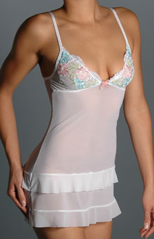 Affinitas Intimates Sandra Babydoll S8-S09 - Affinitas Intimates Sleepwear :  lingerie bridal sleepwear nightwear
