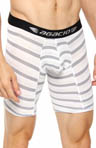 Agacio Long Stripes Boxer Brief 5943