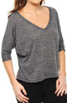 Alo Dolman V-Neck Tee W1169R
