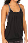 Wholeness Racerback Tank with Attached Bra Image