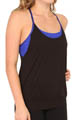 Drape Back Performance Tank Image