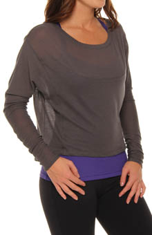Captivate Long Sleeve Crop Tee