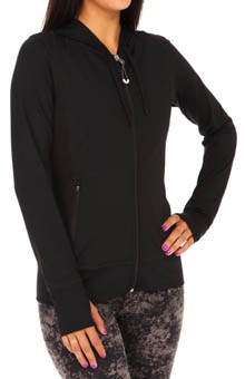 Alo Mesh Insert Synergy Hoodie W4166R