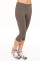Cropped Athletic Capri Legging Image