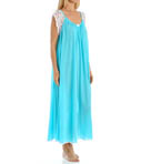 Lace Cap Sleeve Ankle Length Nightgown Image