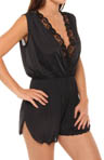 Amanda Rich Romper with Lace Trim AR-417