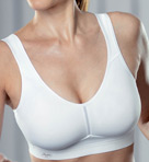 Active Microfiber Molded Sports Bra Image