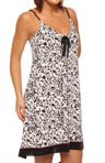 Anne Klein AK Goddess Strappy Gown with Soft Shelf Bra 8010286