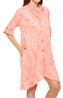 Crazy for Crinkle 3/4 Sleeve Sleepshirt