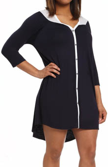 Anne Klein Blues 3/4 Sleeve Sleepshirt 8110384