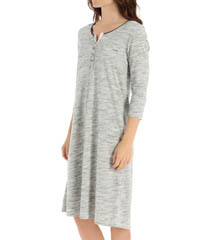 Anne Klein Novelty 3/4 Sleeve Sleepshirt 8110411
