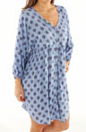 Anne Klein Falling For You 3/4 Sleeve Sleep Shirt 8210333
