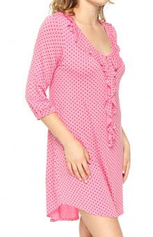 Anne Klein The Styled Things 3/4 Sleeve Sleepshirt 8210342
