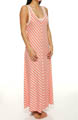 Anne Klein Stripe Hype Maxi Gown 8310299